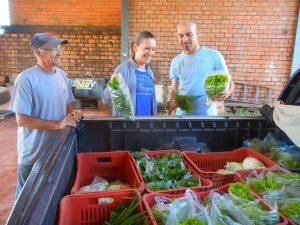 Venda de verduras